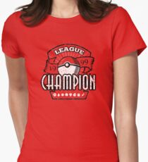 Pokemon League Champion Women's Fitted T-Shirt