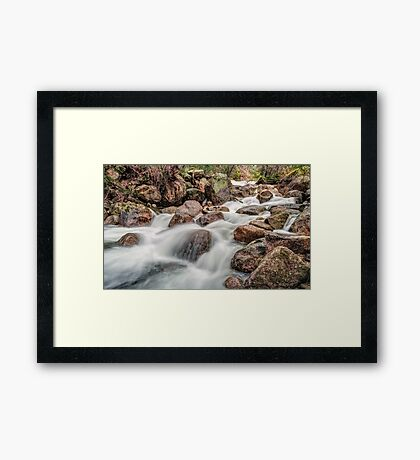 The Flow of Eurobin Framed Print
