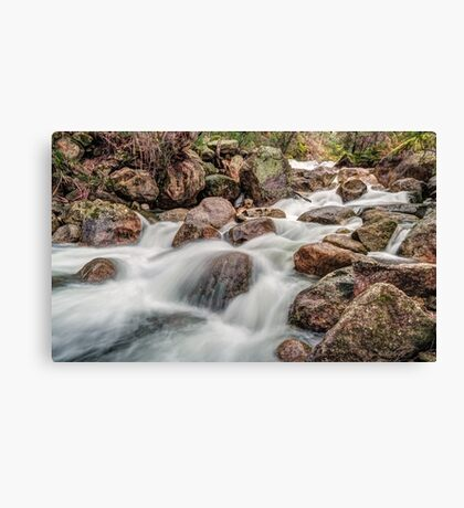 The Flow of Eurobin Canvas Print