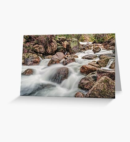 The Flow of Eurobin Greeting Card