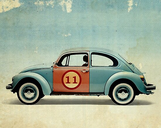 vw beatle number 11 by Vin  Zzep