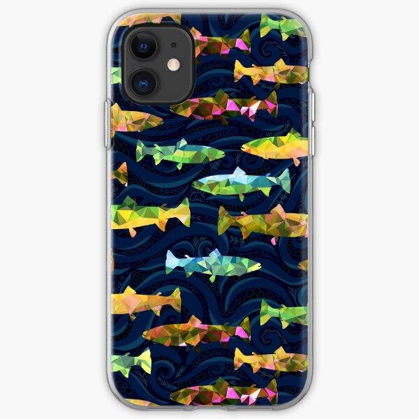 pez arcoiris Funda blanda para iPhone