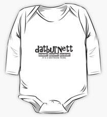 Datburnett Southern cuss words Kids Clothes