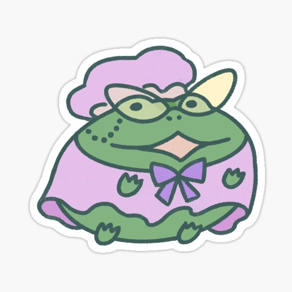 Grandma Frog Sticker