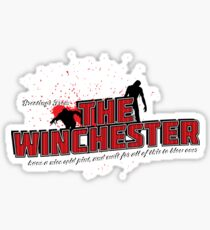 Greetings From The Winchester Sticker