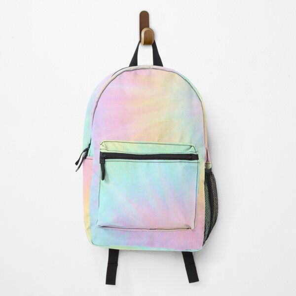 Tie dye pastel wallpaper Backpack