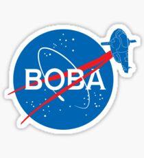 BOBA NASA Sticker