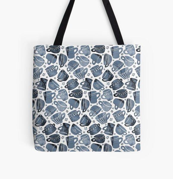 Paper Cut Mugs All Over Print Tote Bag