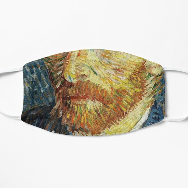 Vincent Van Gogh - Self Portrait with Hat Flat Mask