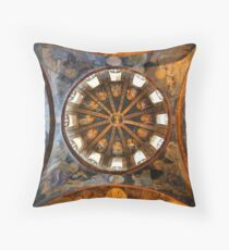 One of the domes in Chora church Throw Pillow