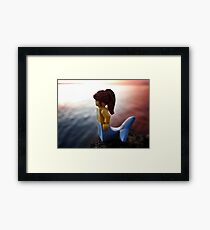 Mermaid Season Framed Print