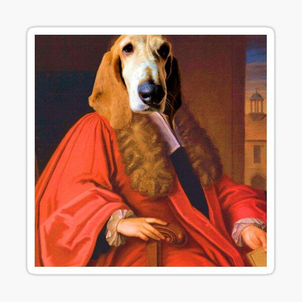 King Dog Sticker