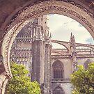 Details of Giralda Architecture. Seville by JennyRainbow