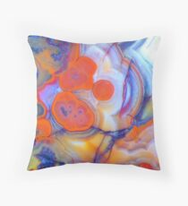 Best Laid Plans (Lace Agate) Throw Pillow