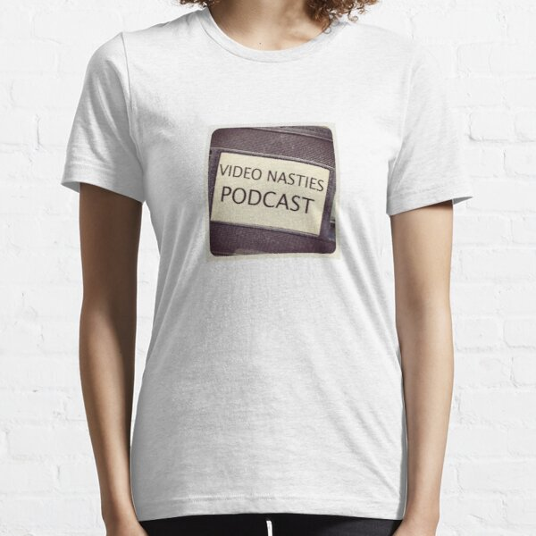 Video Nasties Podcast Icon Essential T-Shirt