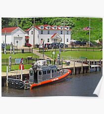 Coast Guard Station: Ashtabula Harbor Poster