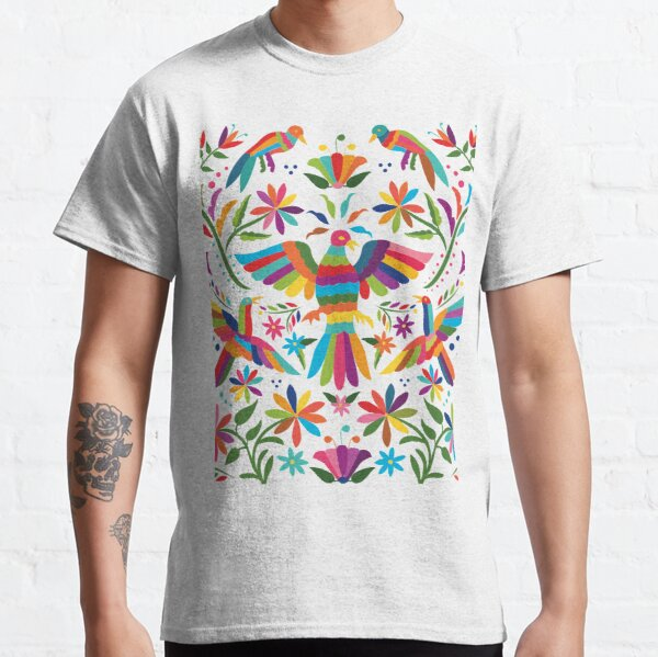 Mexican Otomí Design Camiseta clásica