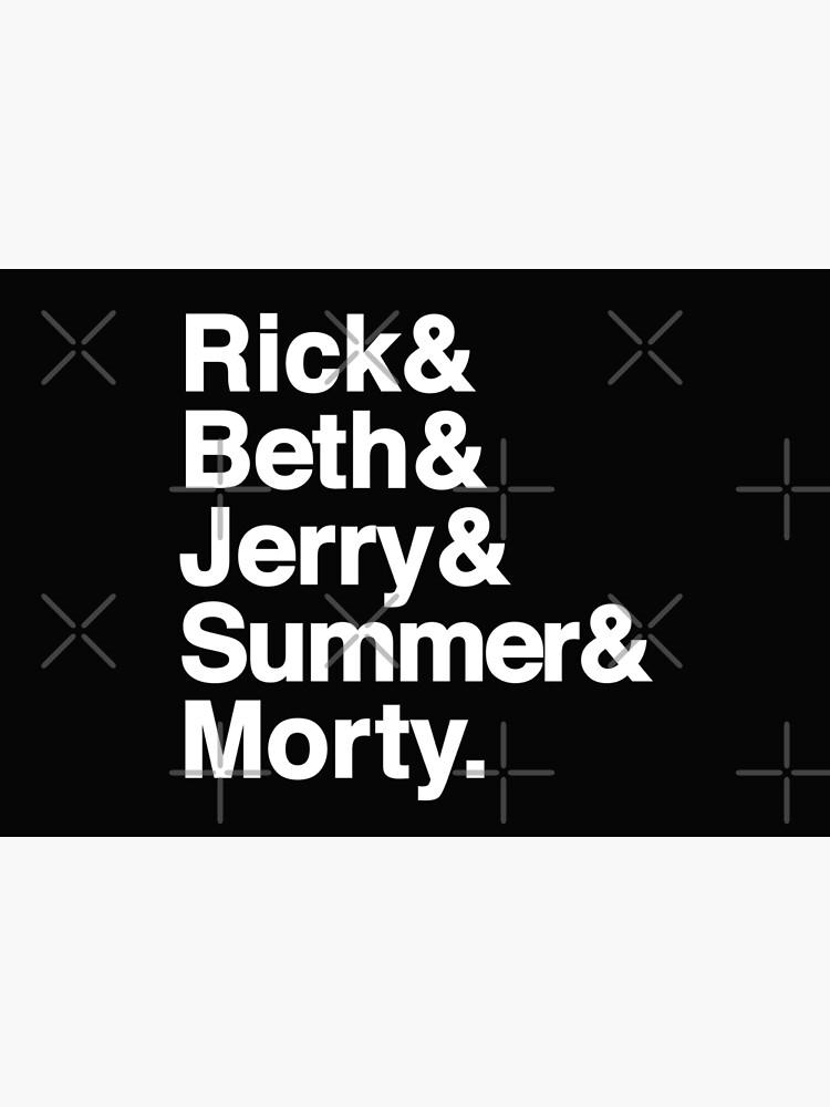 Rick & Morty Jetset by huckblade