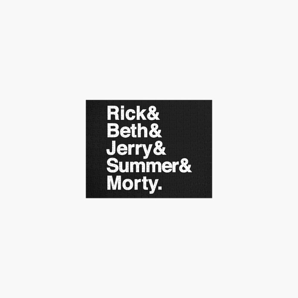 Rick & Morty Jetset Jigsaw Puzzle