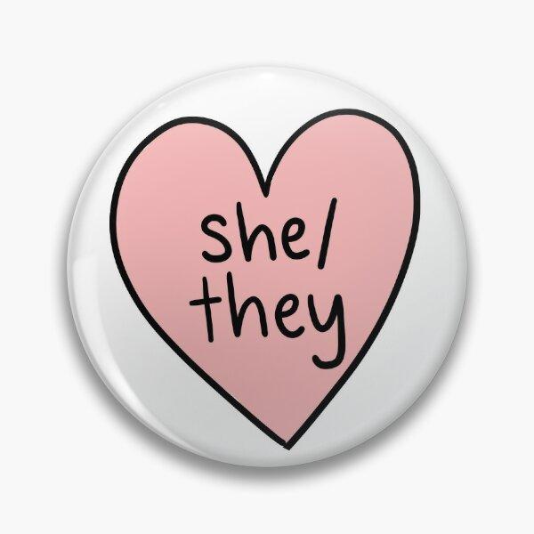 Elle / Ils Pronoms Badge