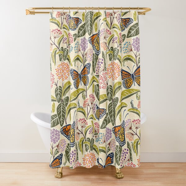 Save Our Monarchs Shower Curtain