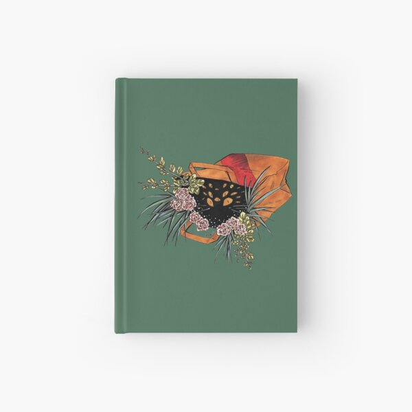 Cat's in the Bag Hardcover Journal