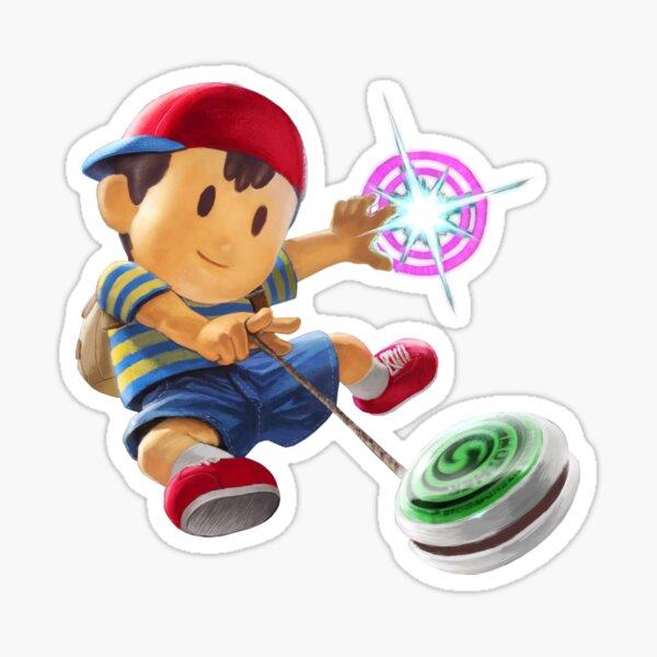 Ness Smash Ultimate Artwork Sticker