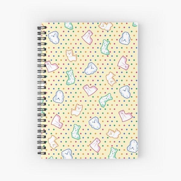 Happy Puppies Spiral Notebook