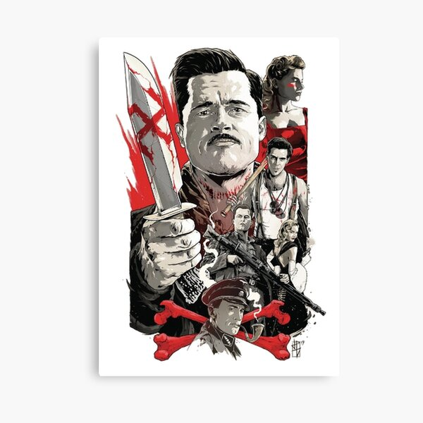 Inglorious Basterds Canvas Print