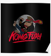 Kong Fury Poster