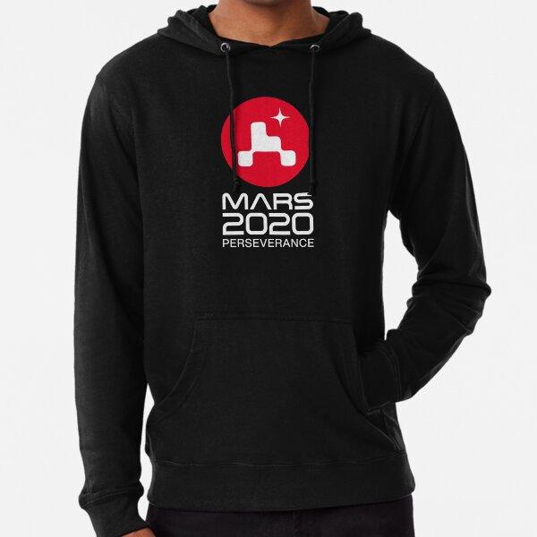 Marte 2020 Perseverance Rover HQ logo Sudadera ligera con capucha