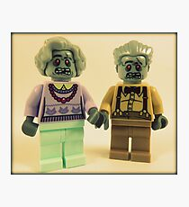 Zombie Grandparents  Photographic Print