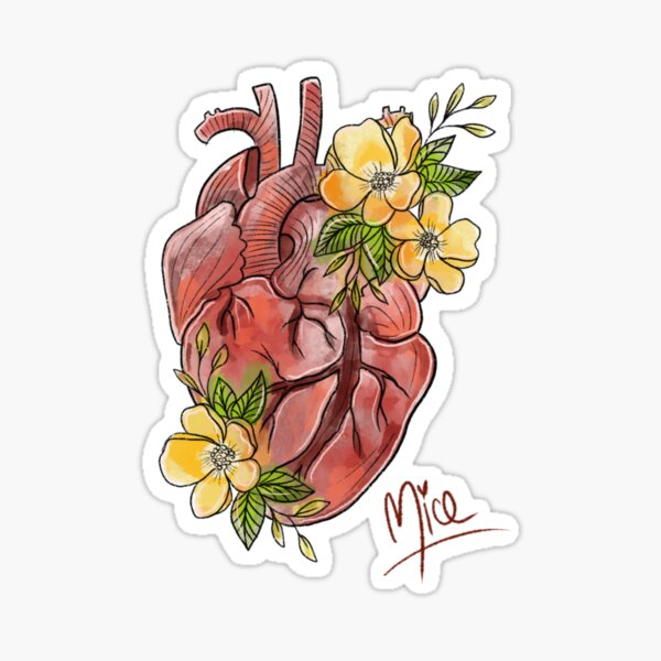 Heart for nature Sticker