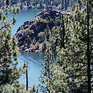 Fannette Island on Lake Tahoe Emerald Bay by Liane6161