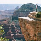 Grand Canyon On the Edge by Liane6161