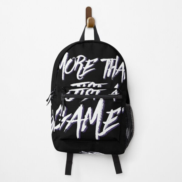 More Than Just A Game Backpack