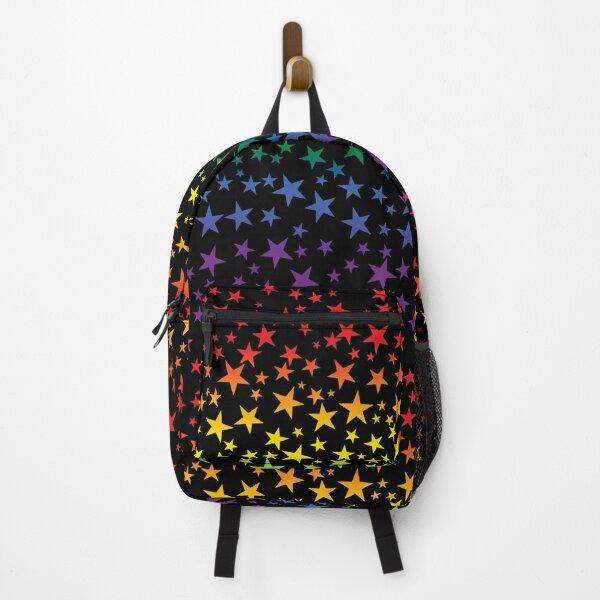 Colorful Rainbow Stars Backpack