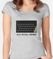 Old Skool Gamer Women's Fitted Scoop T-Shirt
