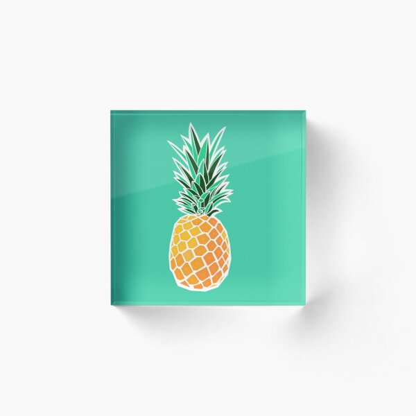 Pineapple Acrylic Block