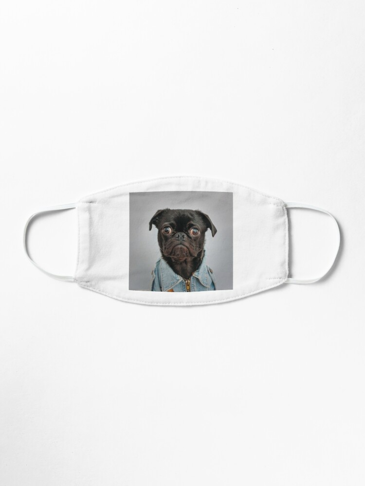 Alternate view of Cute Dog Mask Mask