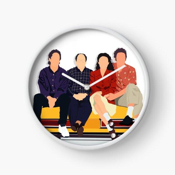 Jerry, George, Elaine y Kramer Reloj