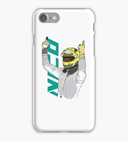 Nico Rosberg iPhone Case/Skin