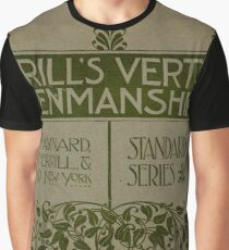 Merrill's Vertical Penmanship Primer, 1895 Graphic T-Shirt