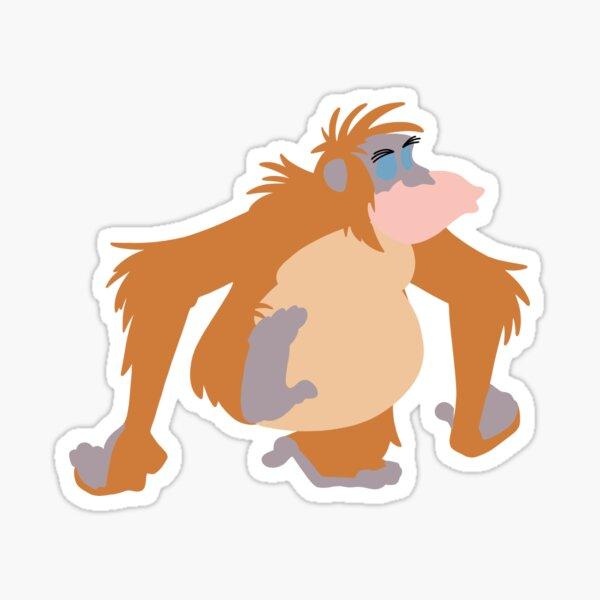 king louie Sticker