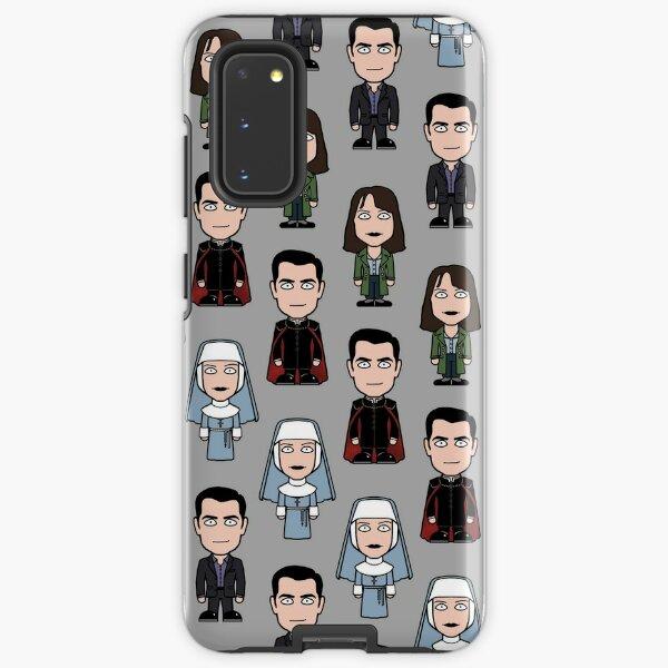 Dracula, Agatha and Zoe Samsung Galaxy Tough Case
