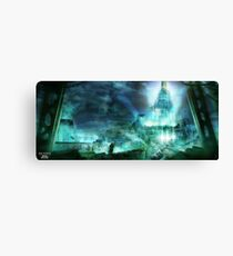 Final Fantasy VII - Midgard Canvas Print