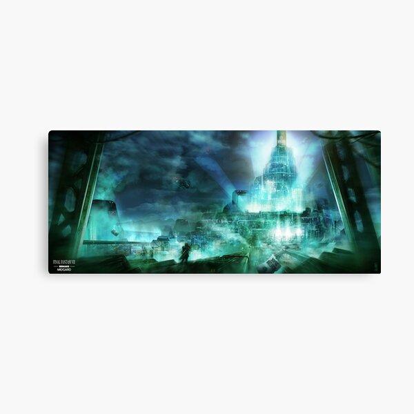 Final Fantasy VII - Midgard Canvas Print