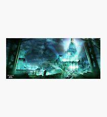 Final Fantasy VII - Midgard Photographic Print