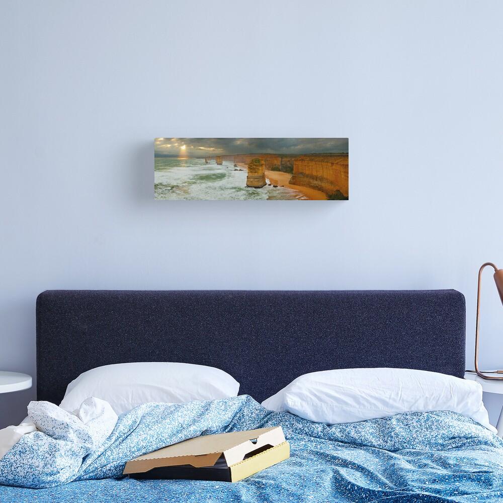 Stormy Twelve Apostles, Great Ocean Road, Victoria, Australia Canvas Print