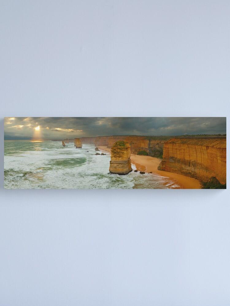 Alternate view of Stormy Twelve Apostles, Great Ocean Road, Victoria, Australia Canvas Print